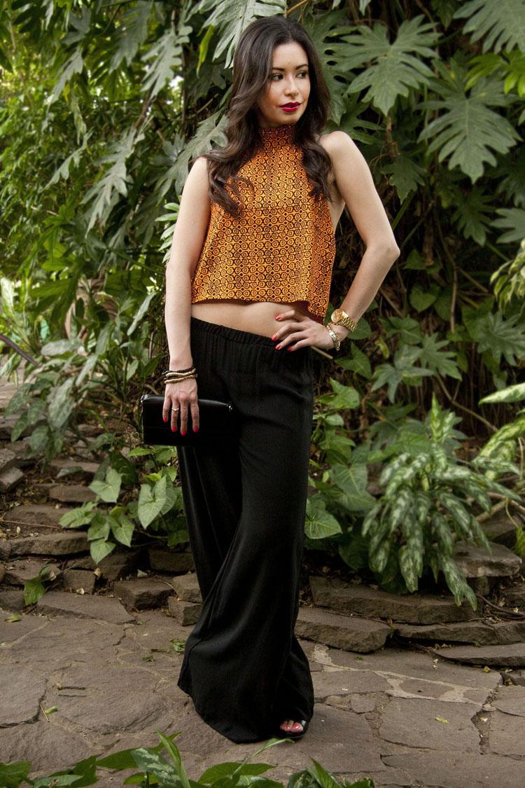 Fashion - Orange Crop Top by Soniux Valdés